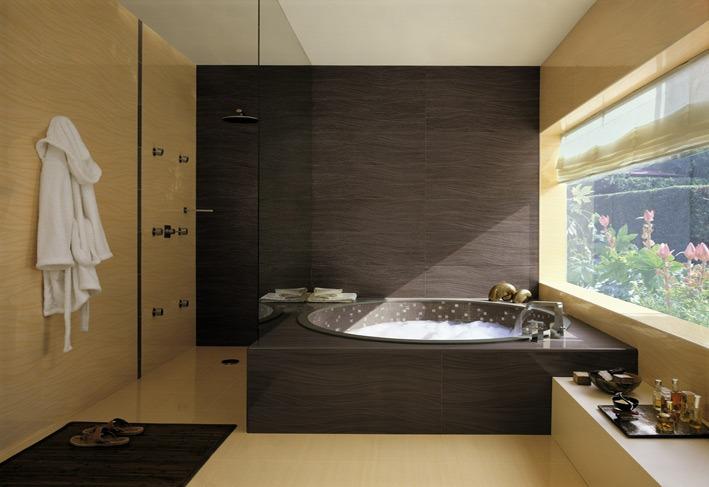 Black Cream Bathroom Scheme Tiles Eurobuild Alicante